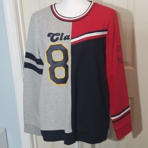 Tommy Hilfiger, Colorblocked Logo Sweater, Large